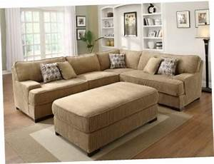 sectional sofa with large ottoman sectional sofa with With sectional couch with large ottoman