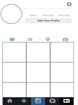 Instagram Profile Template 12712 Blank Profile Photo Instagram Instagram Page