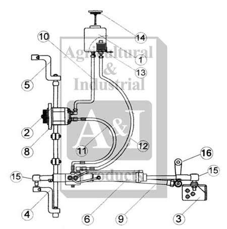 fd power steering kit ford  tractor parts parts