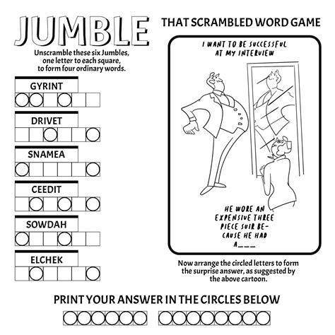 Check spelling or type a new query. 5 Best Free Printable Jumble Word Puzzles - printablee.com