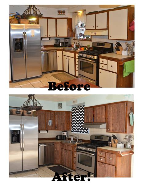 Laminate Cupboard Paint by Stikwood Before And After Kitchen Makeover Laminate