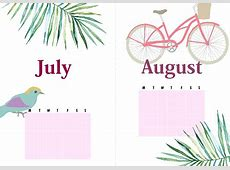 12 Beautiful Monthly Bullet Journal Cover Pages FREE