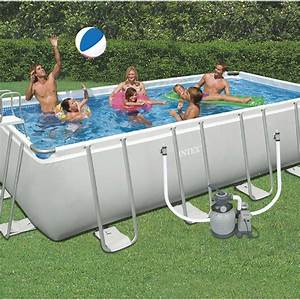 Piscine Intex Hors Sol : piscine hors sol autoportante tubulaire intex l x l ~ Dailycaller-alerts.com Idées de Décoration