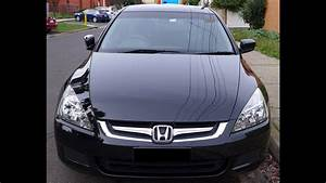 Honda Accord Sedan 2007 Black Colour 2 4 I
