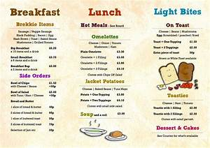 Image result for cafe menu