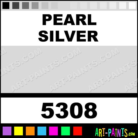 silver pearl paint colors pearl silver professional fabric textile paints 5308