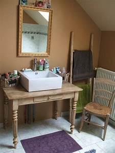 Meuble De Salle : meuble de salle de bain diy ~ Nature-et-papiers.com Idées de Décoration