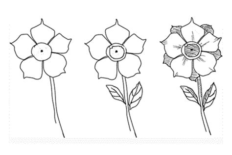 draw  flower  cool funny