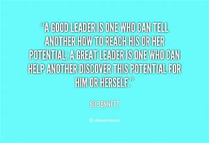 Quotes about Good Leader (141 quotes)