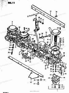 Suzuki Motorcycle 1981 Oem Parts Diagram For Carburetor