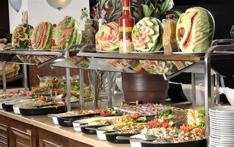 Table Buffet Decoration  Kids Art Decorating Ideas