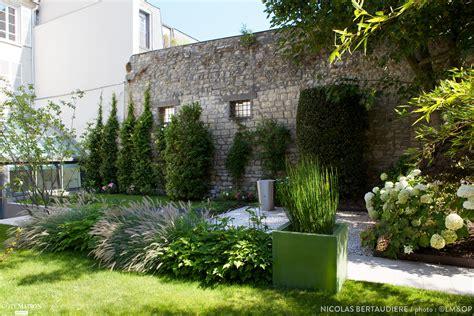 amenagement cuisine salle a manger salon un jardin contemporain garden trotter côté maison