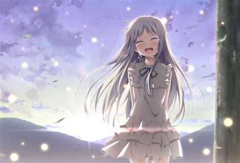 nama anime anohana anime anohana the flower we saw that day