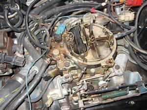1981 V8 With Air And Cruise  Carb Replacement  What Do The