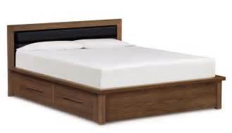 moduluxe 35 in high storage storage platform bed queen size