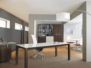 Plateau Deco Design : bureau professionnel design avec plateau laqu blanc mod le kalos work space pinterest ~ Teatrodelosmanantiales.com Idées de Décoration