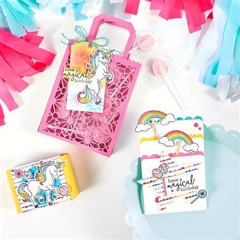fsjs  magical unicorn stamp set  images