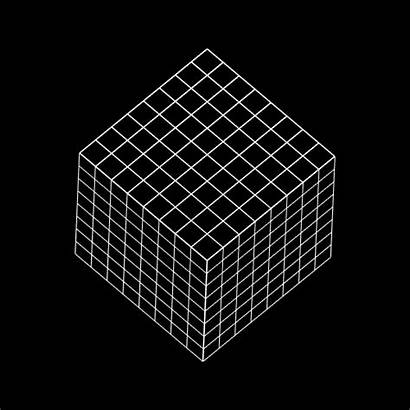 Cube Sphere Isometric Science Illusions Optical Bigfranklittlebeans