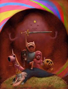 I love Adventure Time by imaginism on DeviantArt