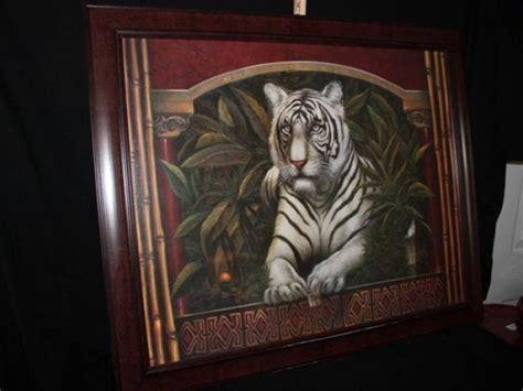 home interior tiger picture quot white tiger quot home interior print
