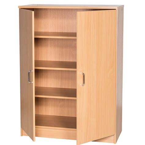 Classroom Cupboards by School Classroom 750mm Wide Storage Cupboard 1000mm High