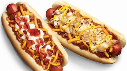 Chili Cheese Bacon Wienerschnitzel Dog Dogs Menu