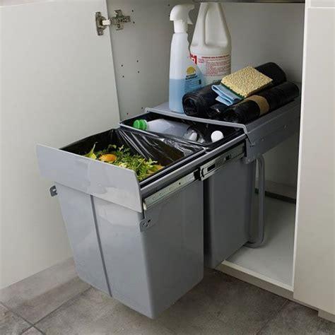 poubelle tiroir cuisine poubelle tiroir cuisine dootdadoo com idées de