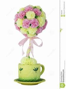 Pot De Fleur Artificielle : fleur artificielle dans un pot image stock image 36622365 ~ Teatrodelosmanantiales.com Idées de Décoration