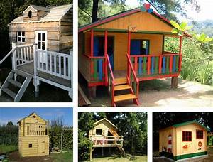 Cabane En Bois : fabriquer une cabane en bois dans un arbre ~ Premium-room.com Idées de Décoration