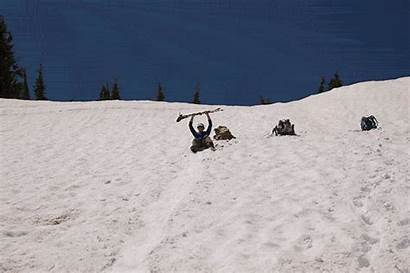 Snow Trail Lake Peak Aloha Slide Play