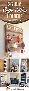 26 best diy coffee mug holder ideas and projects for 2018 With kitchen cabinet trends 2018 combined with candle holder making supplies