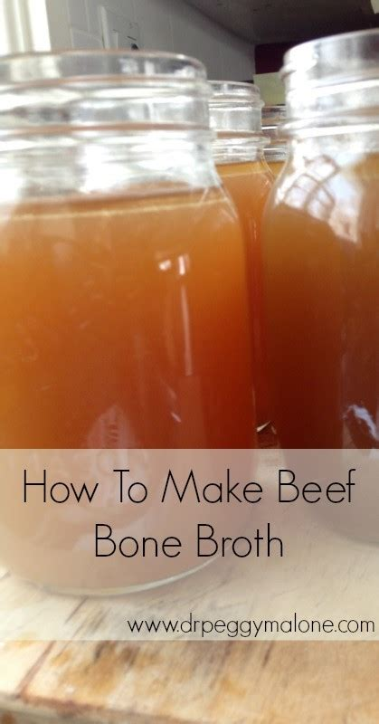 how to make soup how to make beef bone broth