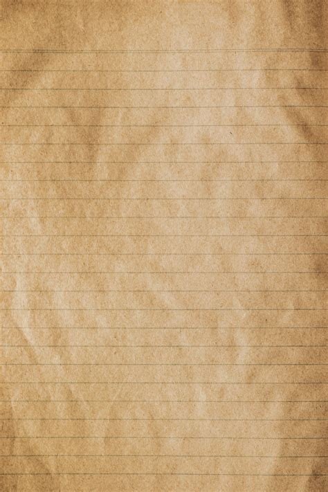 Brown old paper texture vintage paper background Photo