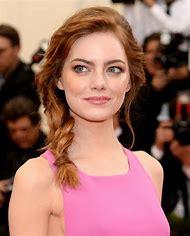 Emma Stone Hair Braid