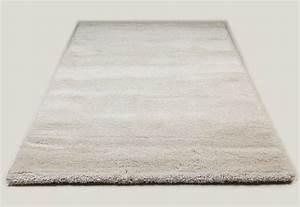 tapis de salon crme moderne shaggy 3 dimensions With tapis shaggy avec prix canapé satis