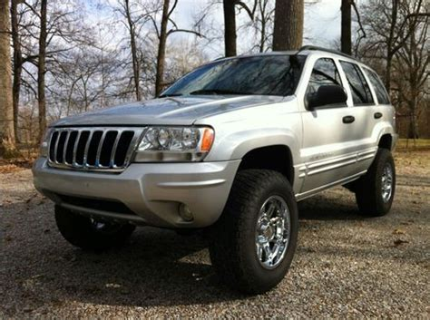 jeep cherokee tires buy used 2004 jeep grand cherokee lifted lift nitto tires