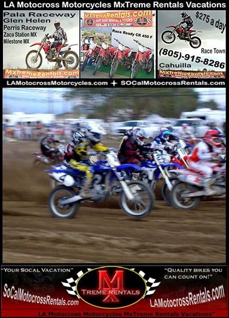 rent motocross bike bakersfield ca la motocross supercross dirt bike rentals