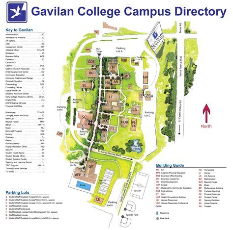 gilroy cus map gavilan college