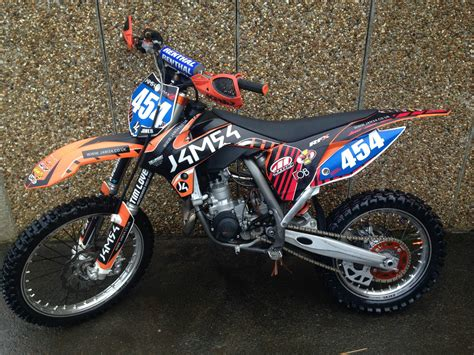 Ktm Sx85 Big Wheel 2014 Bw Mx Motocross Bike