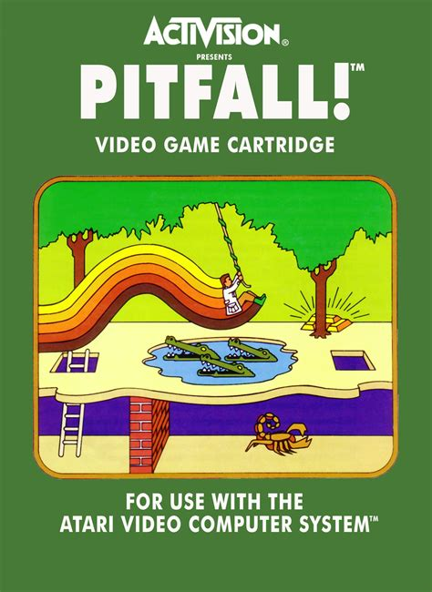 Atari 2600 Pitfall The Greatest Video Games That Ever