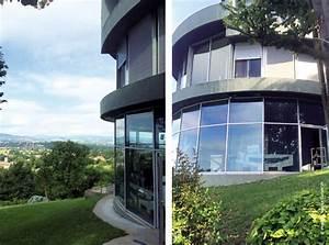 La Maison Ronde Plante Sur Les Monts DOr TRAITS D39CO