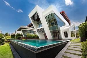 Mercurio Design Lab Create a Modern Villa in Singapore