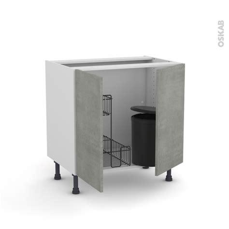porte meuble sous evier cuisine poubelle cuisine sous evier maison design bahbe com