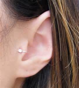 connecting earrings tragus piercing process infection cost and