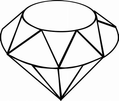 Ruby Sketch Clipart Clip Drawing Gem Diamond
