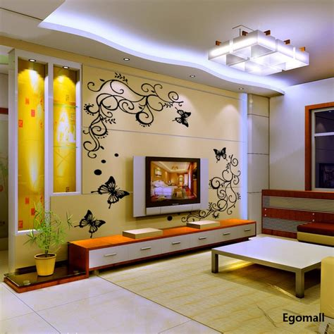 for house decoration 3d butterflies wall sticker living room bedroom background decoration wall stickers home decor