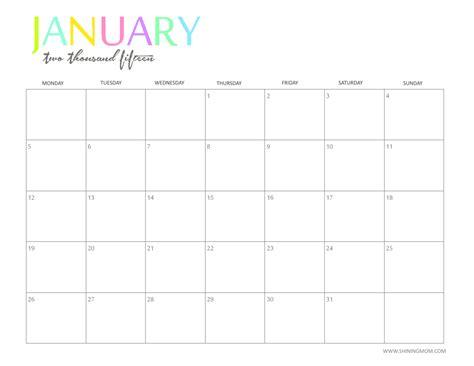 printable calendars roundup desert willow lane