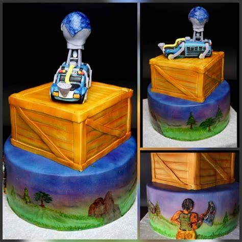 fortnite battle royale birthdaycake airbrushedcake
