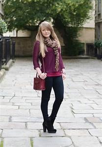 Hu0026m-purple-jumper-black-skinny-jeans u2013 Raindrops of Sapphire