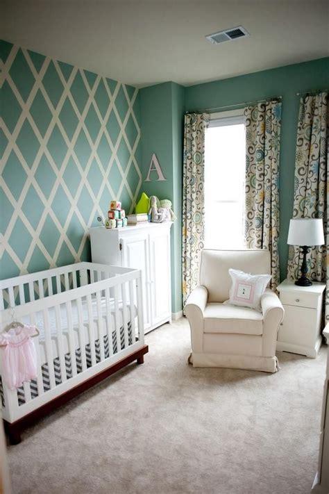 Wandgestaltung Kinderzimmer Mädchen Und Junge by Wandgestaltung Im Babyzimmer In Pastellgr 252 N Und Wei 223